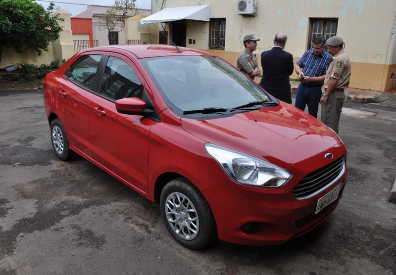 Automóvel foi cedido pela prefeitura à unidade dos Bombeiros por meio de termo de cessão de uso
