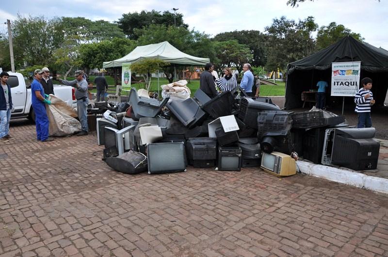 Material coletado em 2014