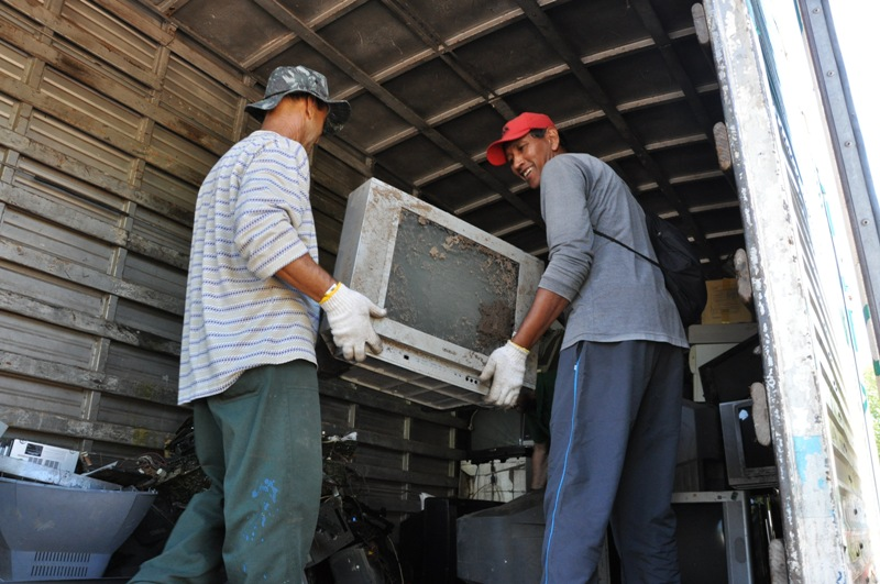 Televisores foram entregues aos montes