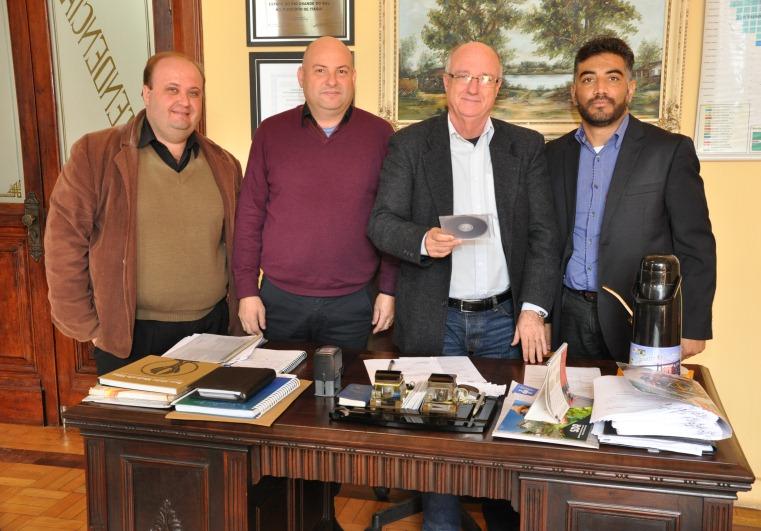 Da esq. para a dir.: Ricardo, Edson, Gil e João Balbino