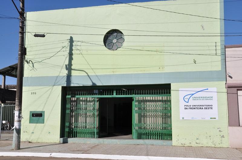 Polo de Itaqui da UAB está situado na Rua Independência, 230