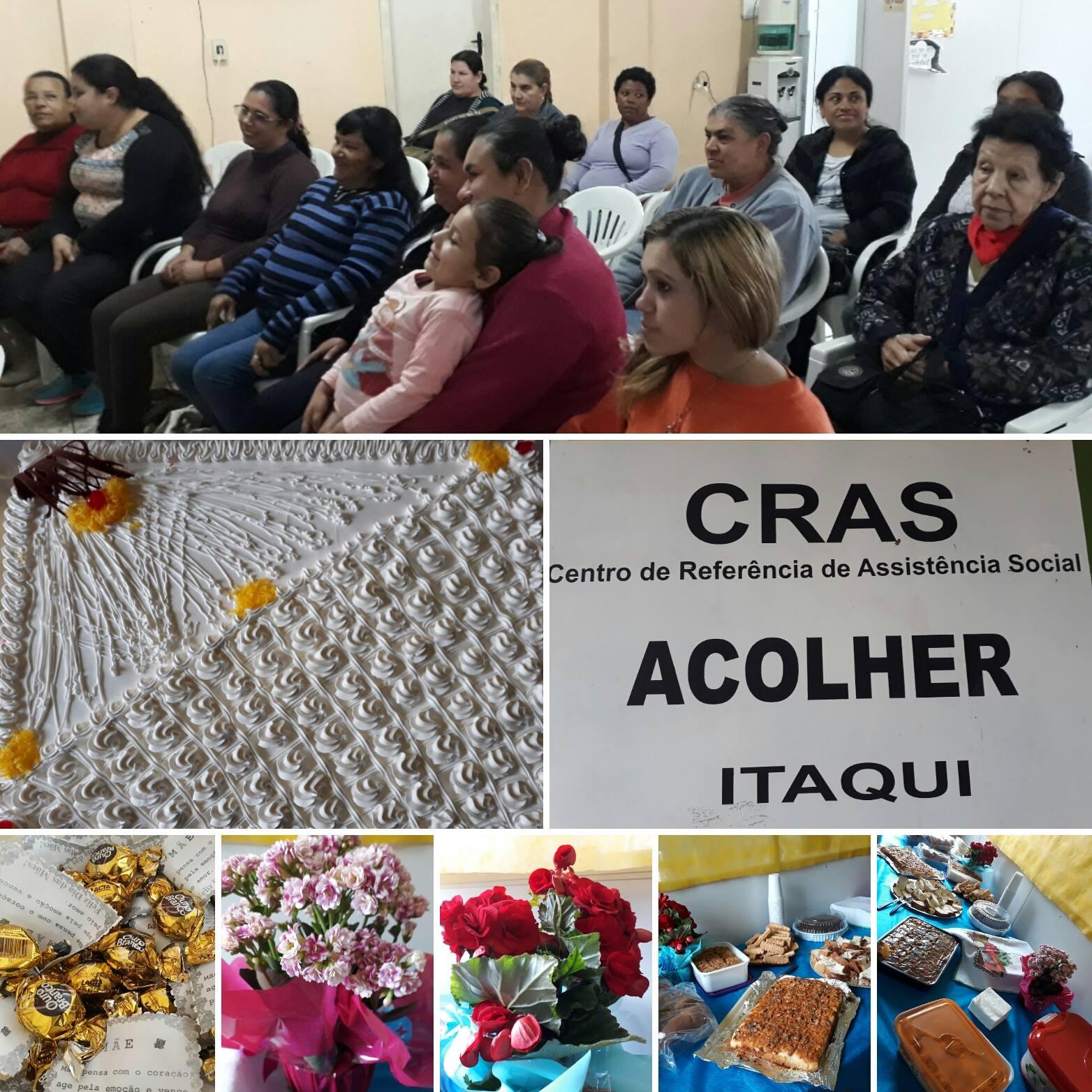 A comemoração foi organizada pelas próprias funcionárias do CRAS.