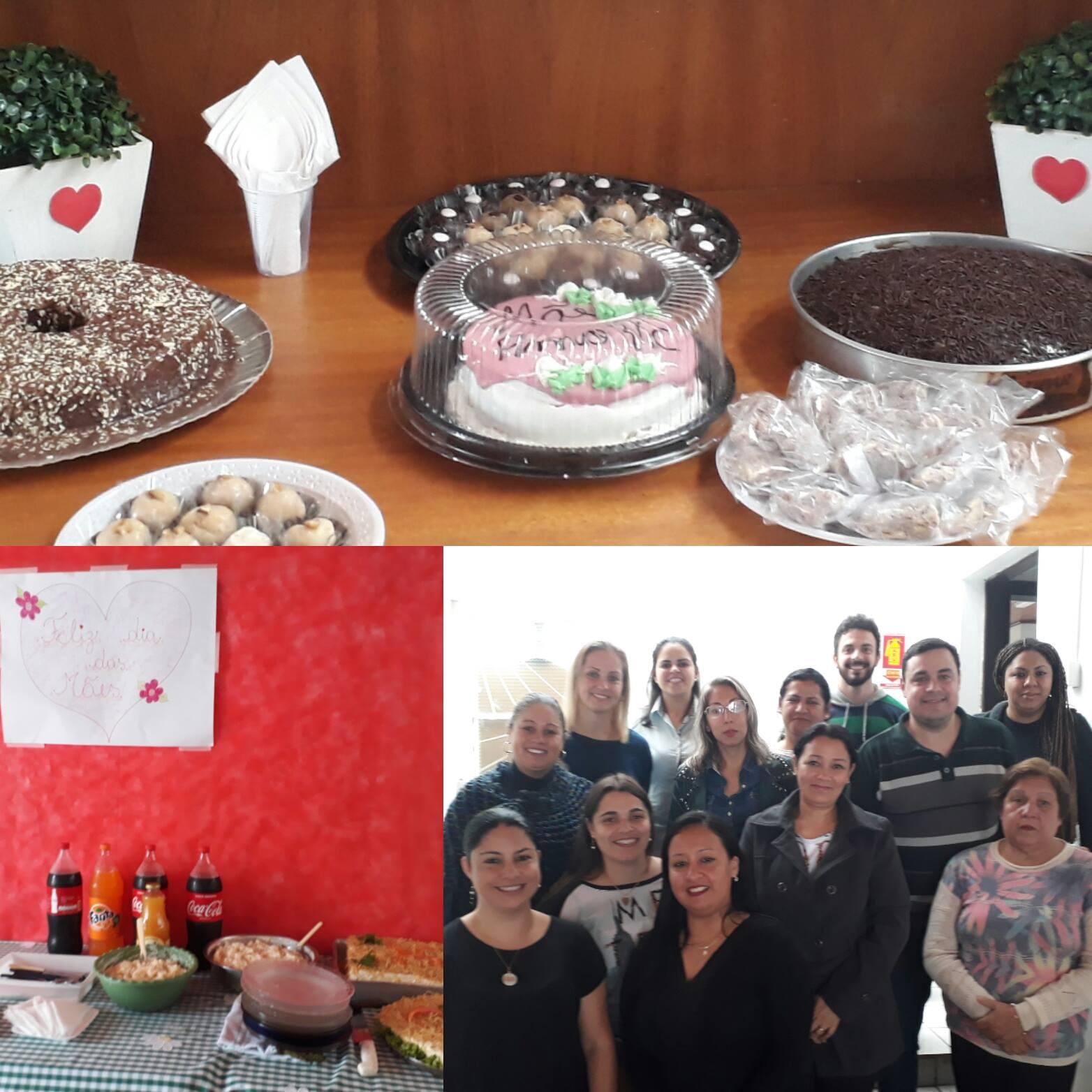 Almoço e mensagem de comemoração foram elaborados pelas próprias funcionárias do local