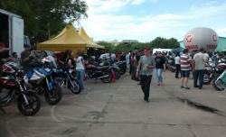 Motociclistas tomaram conta do GSSI na sexta e no sábado, 6 e 7