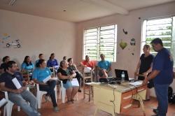 Palestra sobre Prevenção e Combate a Incêndio realizado pela empres JA Extintores.