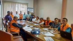 Reunião sobre atividades realizadas pelos Coordenadores municipais.