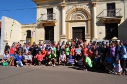Atletas da região participam da Rústica em homenagem ao Dia do Trabalhador.