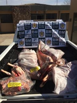 Apreendido mais de 190 kg de carne sem procedência