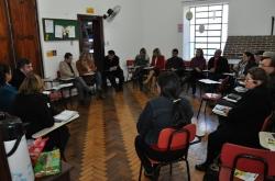 Servidores atentos às explicações sobre a nova legislação