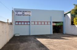 Fachada da nova sede do Centro Municipal de Fisioterapia