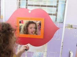 A��o de promo��o da sa�de bucal na Escola Gl�dis Fernandes