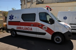 Sa�de adquire segunda ambul�ncia em 2014