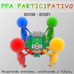 Plano Plurianual - venha fazer parte da construção do seu município.