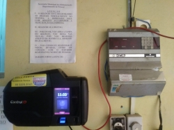 Ponto Biométrico  na Prefeitura