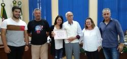 Historiador Jesus Pahim é homenageado pelo município
