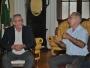Presidente da Câmara de São Borja visita o Prefeito Jarbas Martini