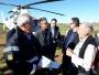 Governador sobrevoa Itaqui e fala sobre a situação crítica em que se deparou no município