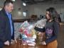 CRAS inicia entrega de donativos da Defesa Civil
