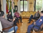 Vice-prefeito Marcio Palma reuniu-se com o Chefe dos Bombeiros de Itaqui