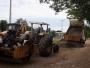 Secretaria de Obras realiza reparos em ruas da cidade