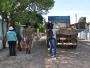 Ação conjunta realiza limpeza na Vila Nova