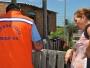 Defesa Civil faz entrega de material para os atingidos pelo temporal de outubro
