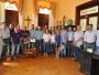 Prefeito, Secretario e Vereadores se reunem com Deputado Estadual Frederico Antunes