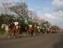 Desfile de 20 de setembro acontece no parcão