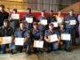Executivo participa da solenidade de formatura do curso de Técnica e Tática de Combate a Incêndio Nivel I dos Bombeiros Civis de Itaqui
