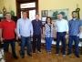 Presidente da Fundação Ivan Goulart visita o gabinete do prefeito