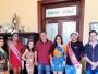 Gabinete recebe a visita da corte do Carnaval 2020 de Itaqui
