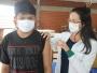 Vacinação contra Covid-19 comtemplou 176 adolescentes de 13 anos nesta quinta